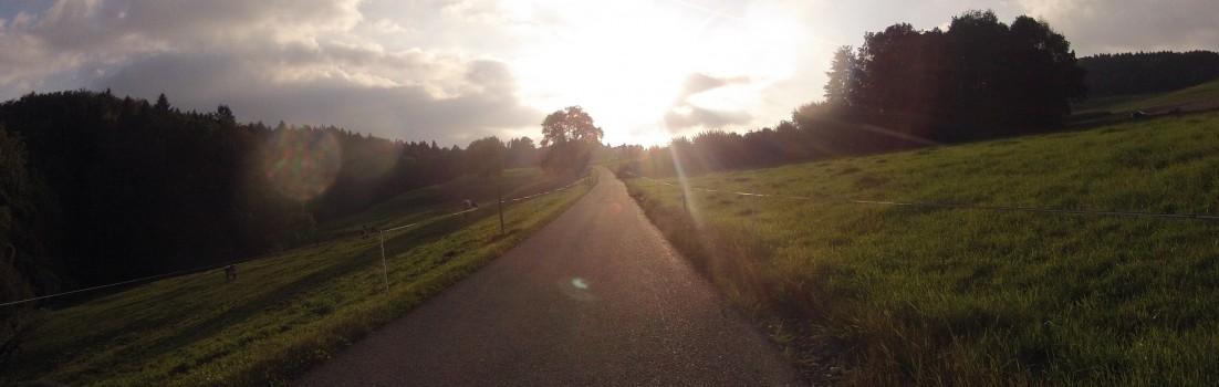 Sonnenuntergang über Lieli
