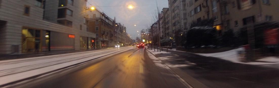 Winterlich in Zürich