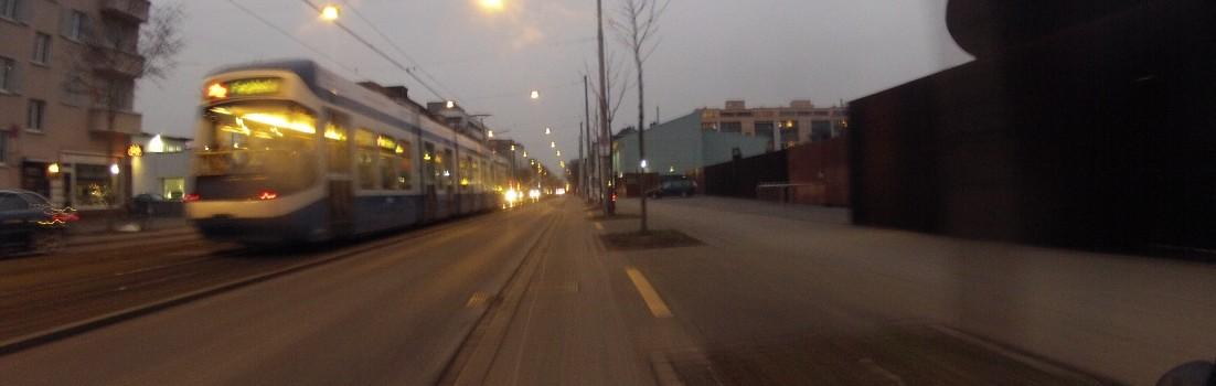 Stadtauswärts, Letzigrund
