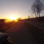 Nochmals Sonnenaufgang