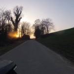 Der letzte Arbeitsweg in diesem Winter