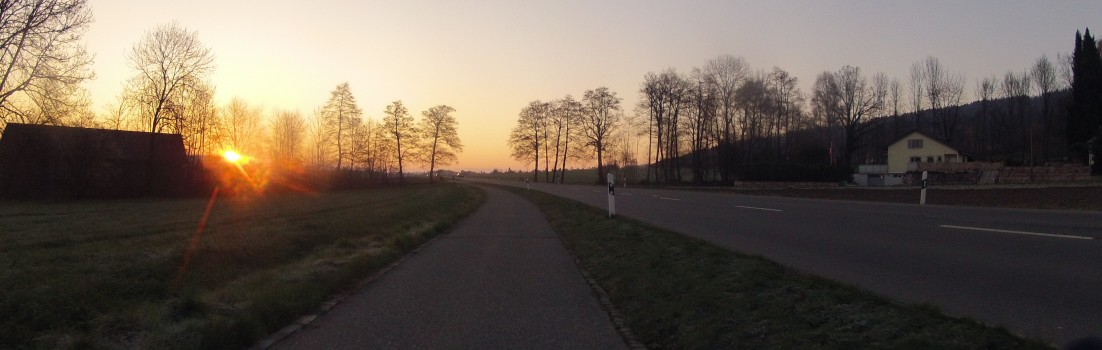 Furttal im Sonnenaufgang