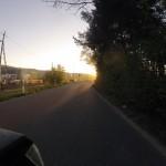 Sonniger Morgen, sonnige Heimfahrt