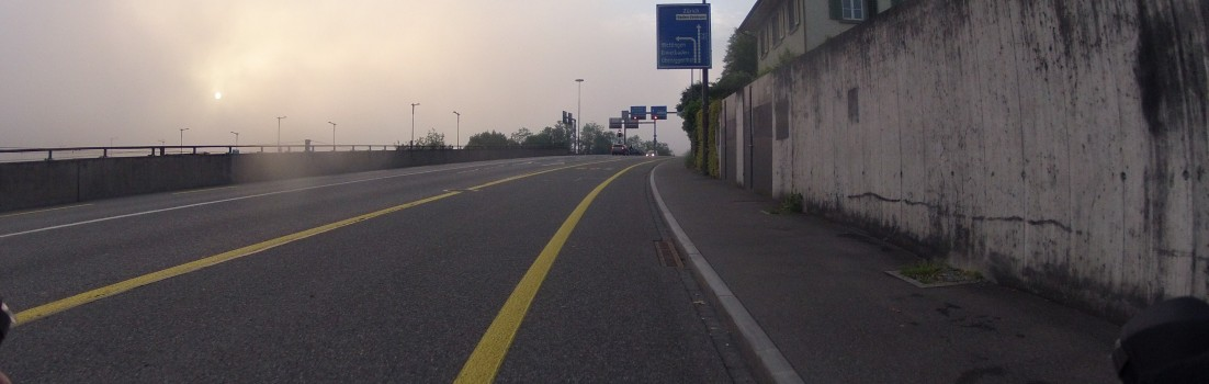 Nebel am frühen Morgen