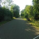 Radweg um das Quartier