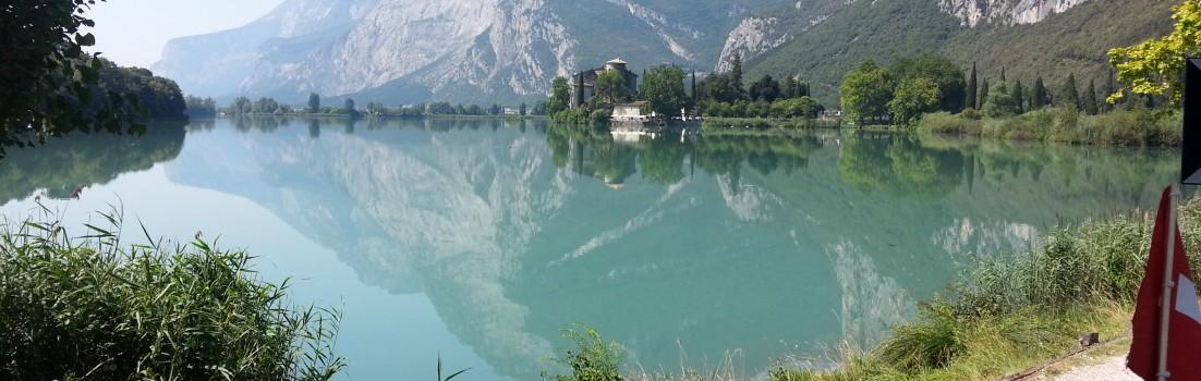 An einem der vielen Seen