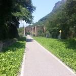 Doppel-Eisenbahnbrücke der ehemaligen Brennerbahn