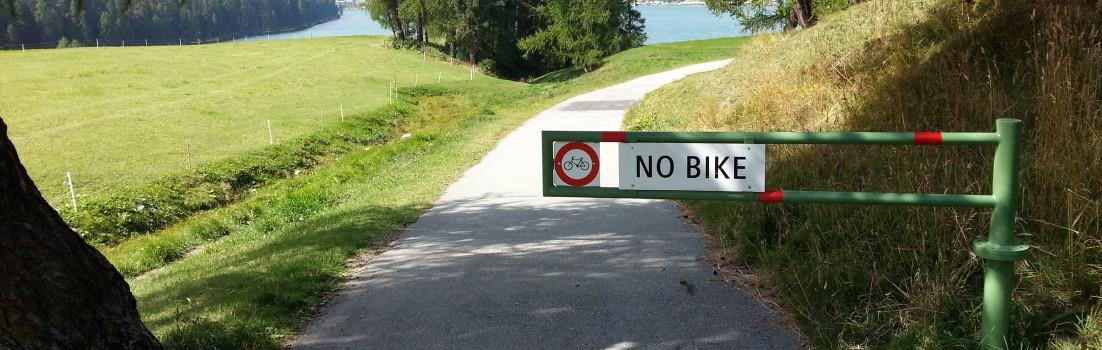 no bike