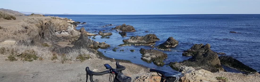 Rennrad am Mittelmeer