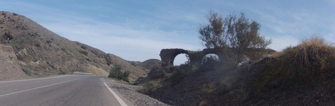 Ruine an Küstenstrasse