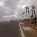 Das Meer schäumt