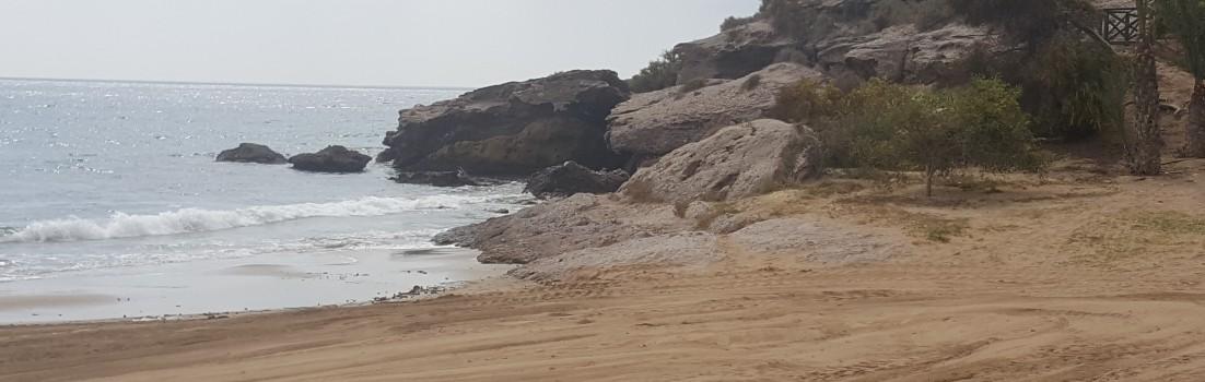 Sandstrand in San Juan