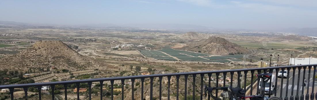 Sicht von Mojacar pueblo