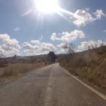 Nach der Via Verde an den Strand