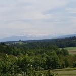 Blick zum Alpenkamm