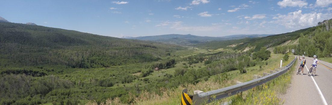 Auffahrt zum McClure Pass