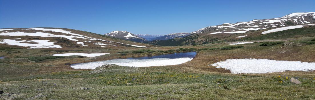 Aussicht auf dem Independence Pass