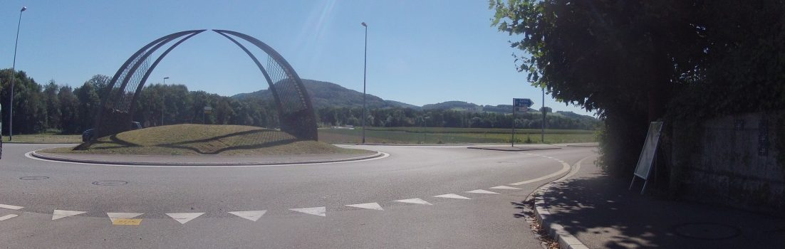 Wasserschloss-Kreisel