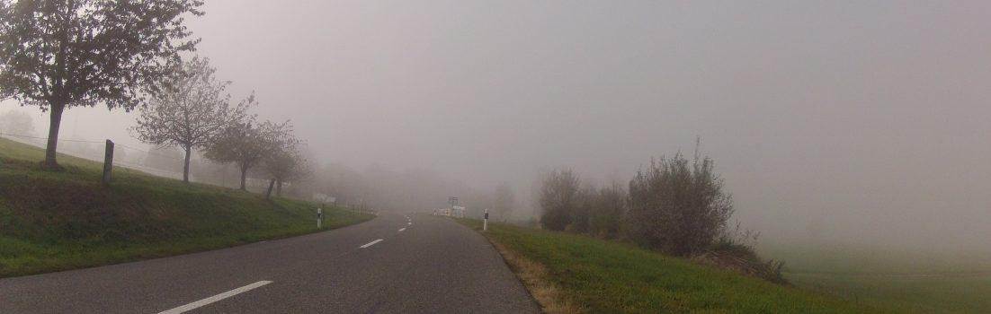 Bald ist die Nebeldecke durchstossen