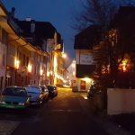 Weihnachtsdekoration in Mellingen
