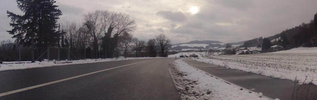 Winterstimmung im Aaretal