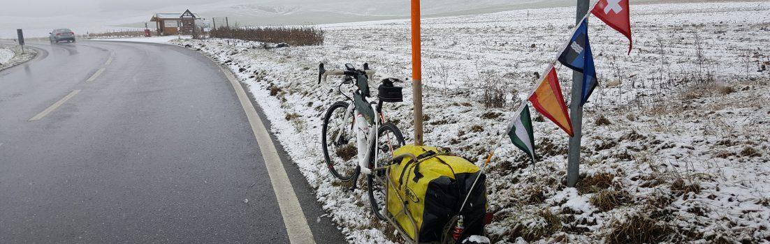 Start im Winter