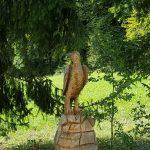 Steinadler aus Holz