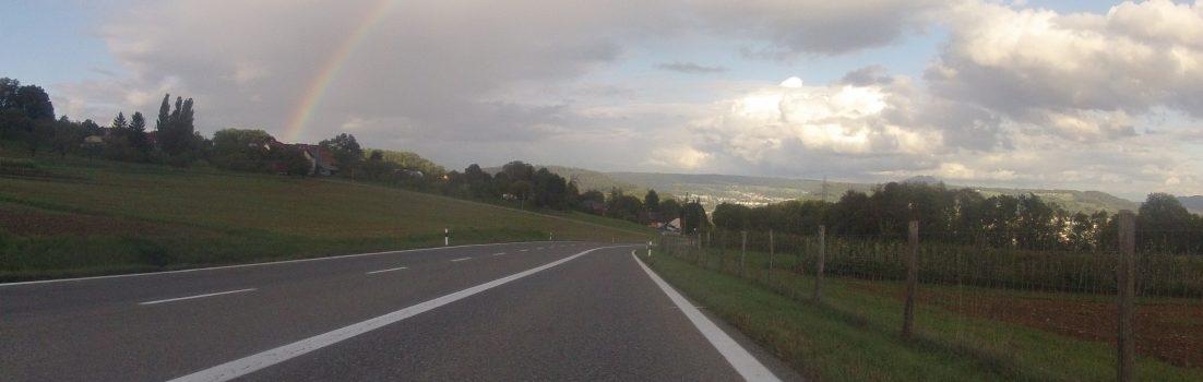 Regenbogen am Bözberg