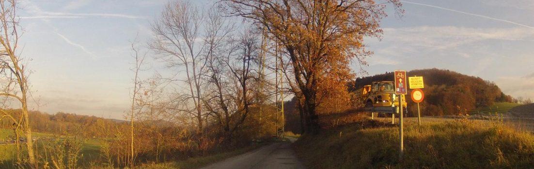 Radweg Etzgen-Kaisten