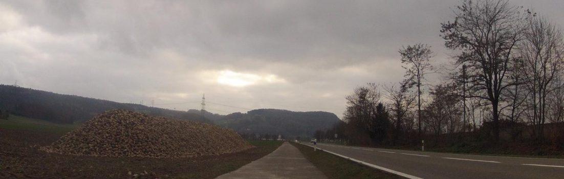 In der Nähe von Leibstadt