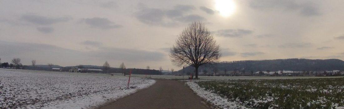 Winterstimmung über dem Birrfeld