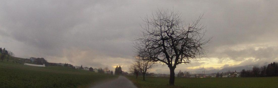 Radroute 34 bei Hunzenschwil