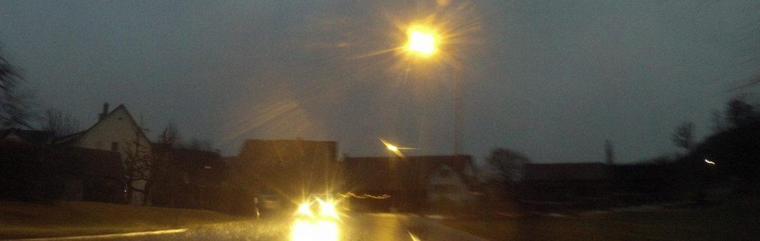 Glanzlicht Regen