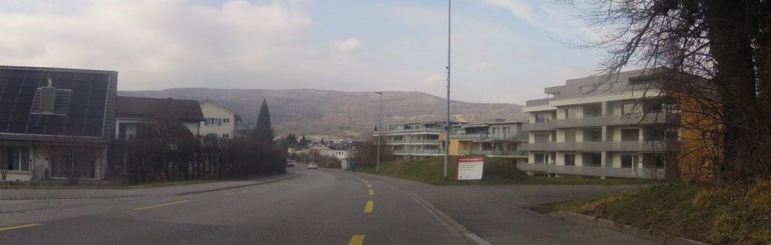 Blick an den Jura