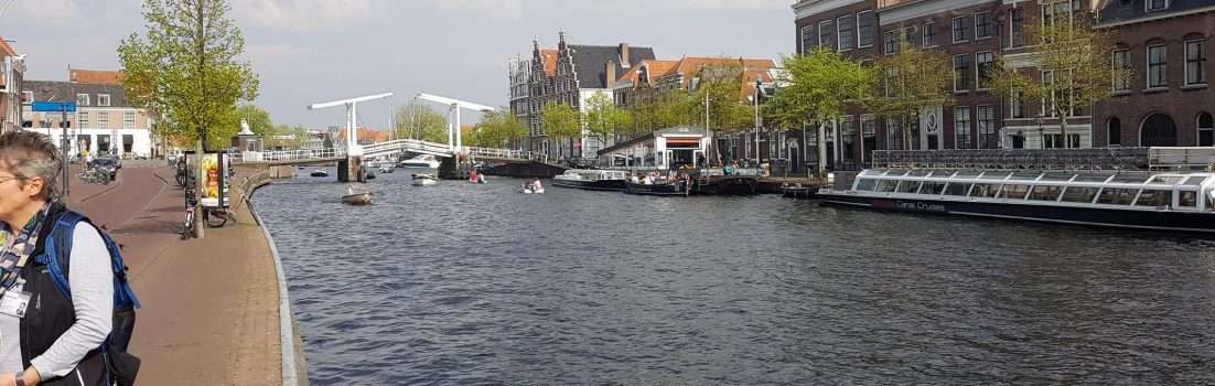 Gracht in Haarlem