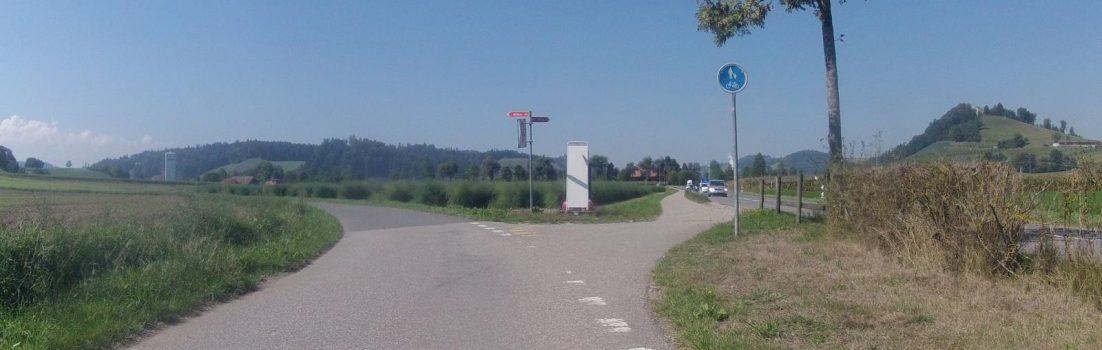 Unterwegs auf Radwegen