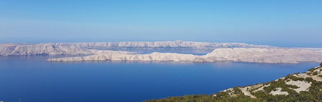 Küstenlandschaft vor Kroatien
