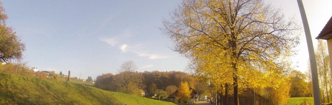 Herbstliche Farben bei Niederrohrdorf