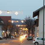 Weihnachtsbeleuchtung in Niedergoesgen
