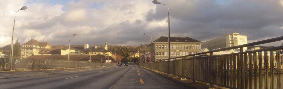 Aarebrücke zwischen Niedergösgen und Schönenwerd