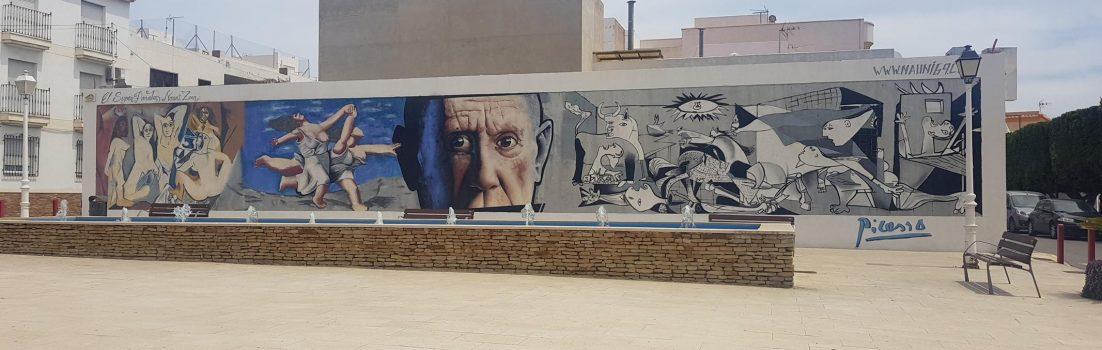 Pablo Picasso in Carboneras