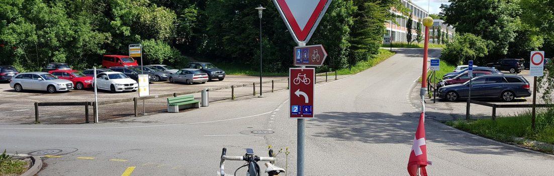 Unterwegs auf der Radroute 2