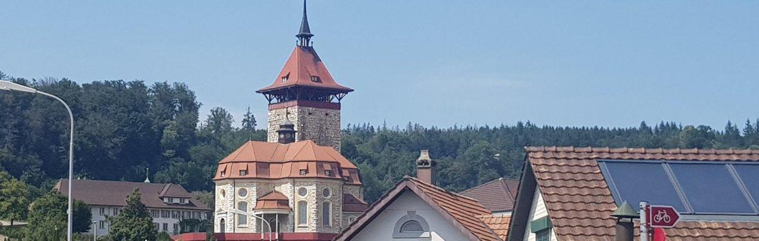 Schloss Falkenstein in Niedergösgen
