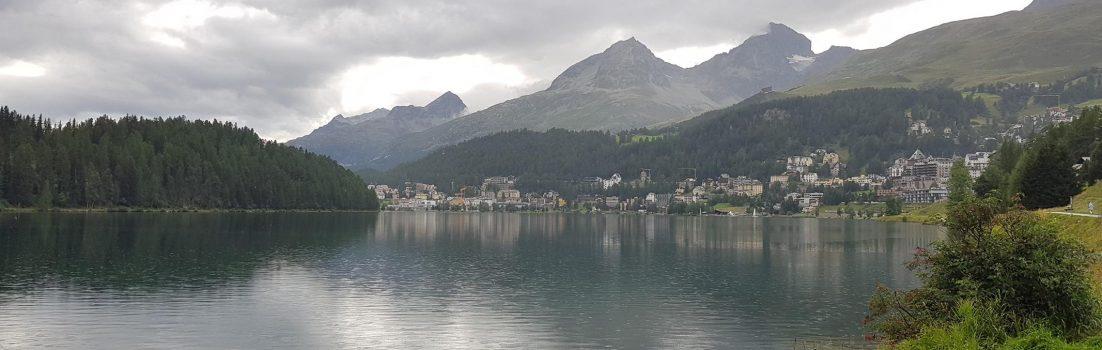St. Moritz im Regen