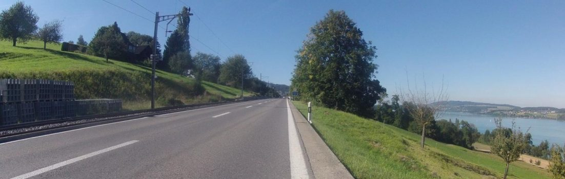Dem Hallwilersee entlang (nach Norden)
