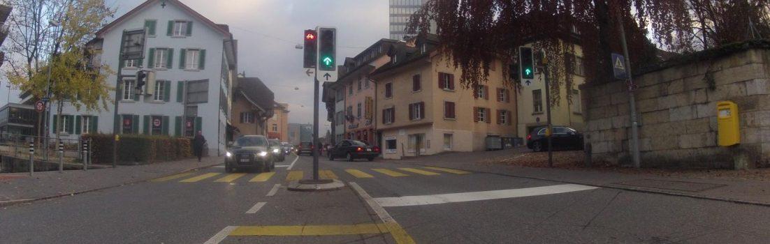Mitten durch Aarau