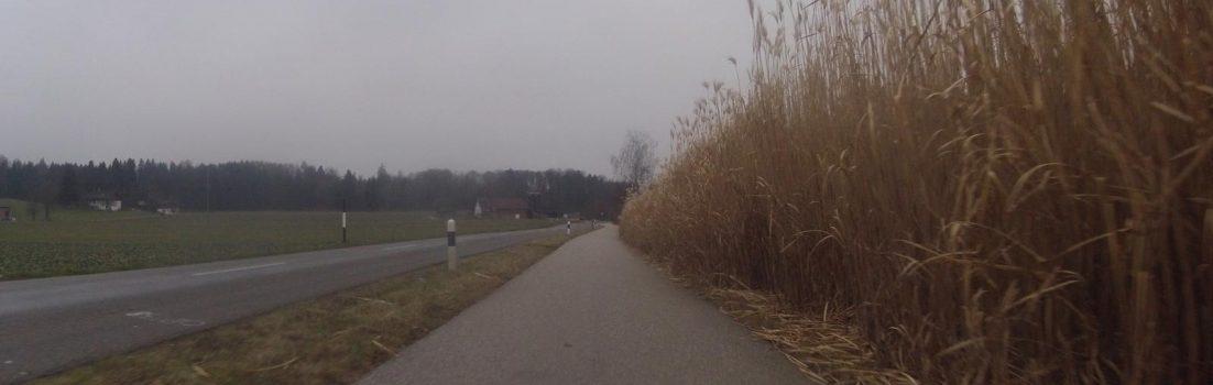 Radweg in Niederrohrdorf