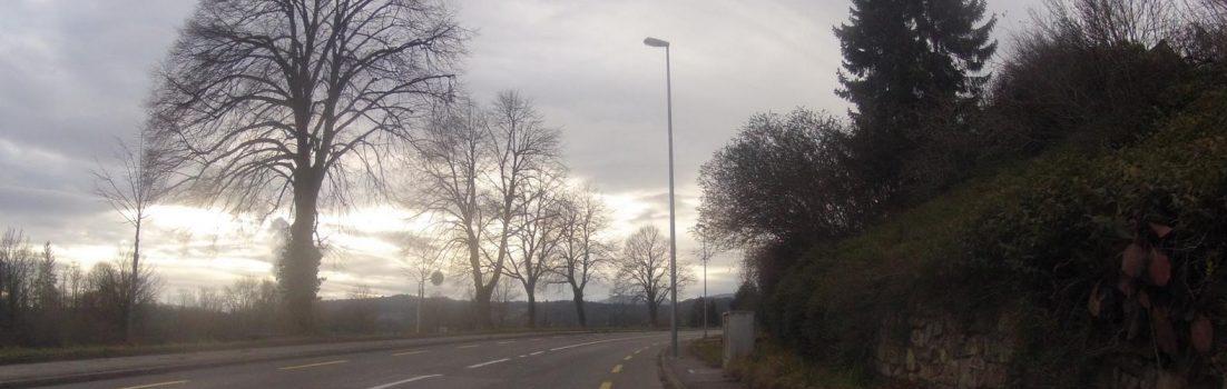 Von Aarau nach Erlinsbach