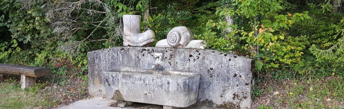 Brunnen auf dem Bözberg