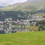 Stazer See und St. Moritz